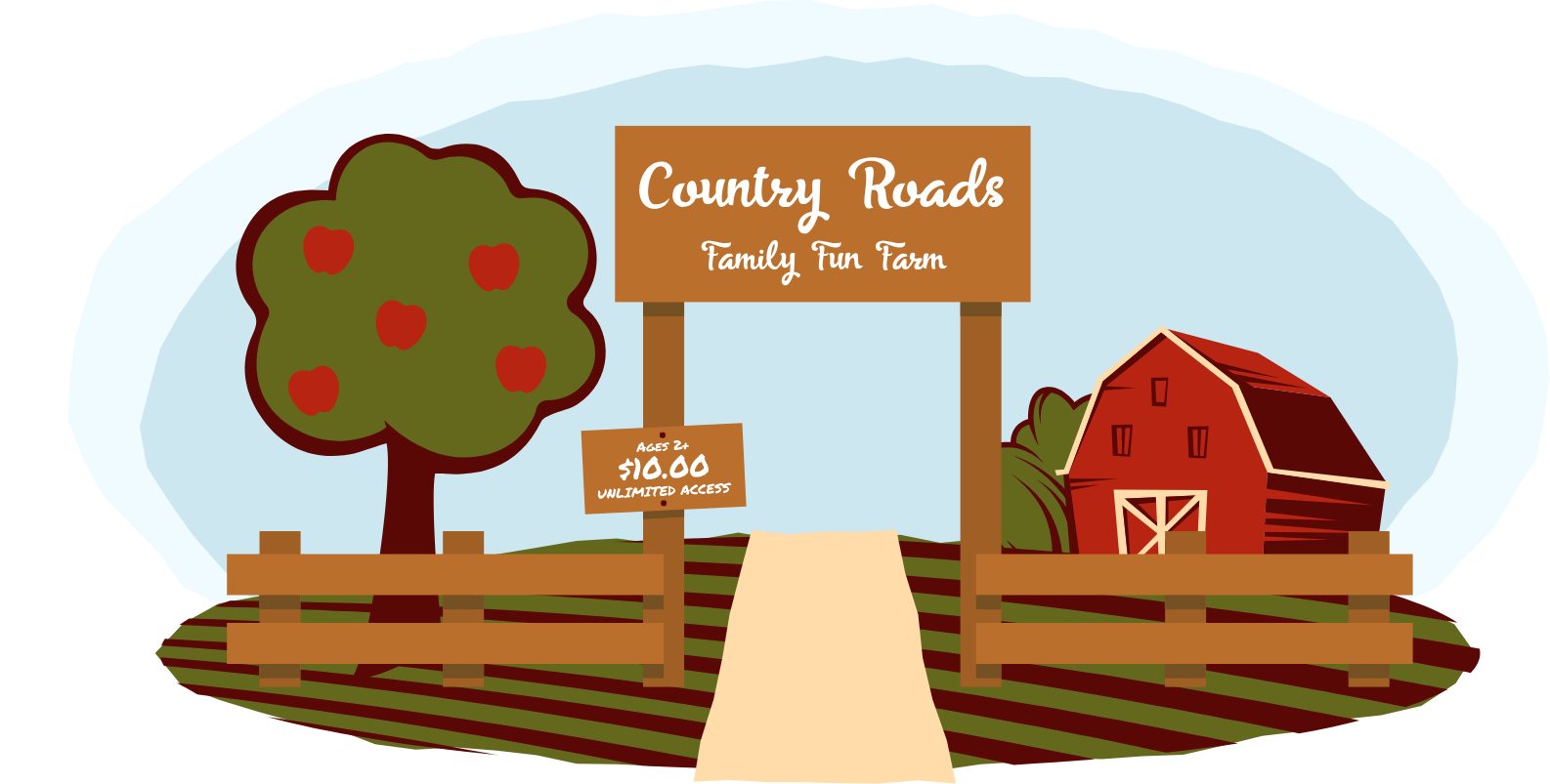 Country Roads Header
