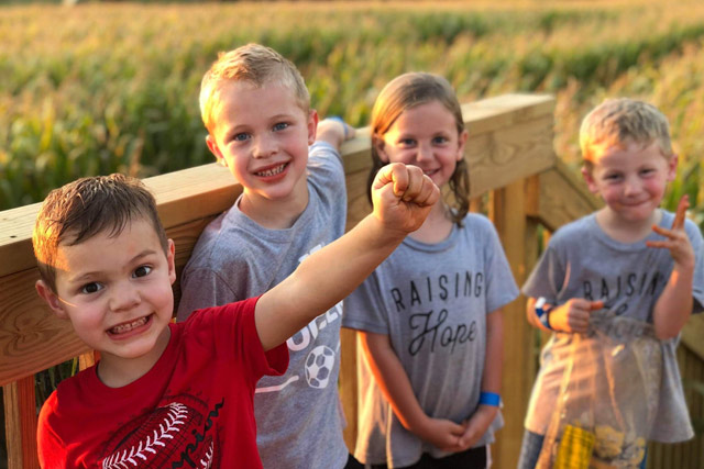 Corn Maze fun - Stotts City, MO