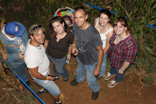 Flashlight Nights in the Corn Maze at Country Roads Family Fun Farm - Stotts City, MO