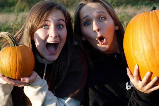 U-Pick Pumpkins at Country Roads Family Fun Farm - Stotts City, Missouri