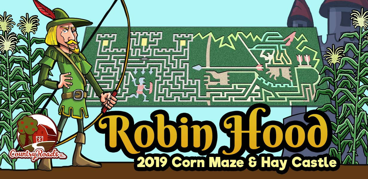 2019 Robin Hood Corn Maze - Stotts City, Missouri