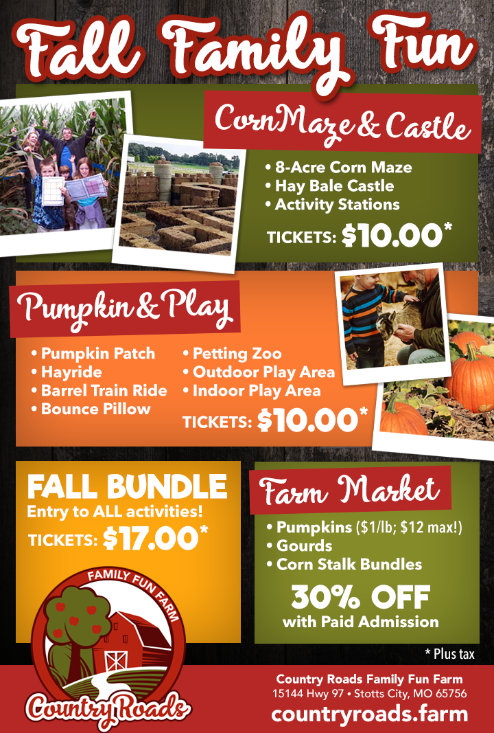 Fall Family Fun - Ticket Prices & Options