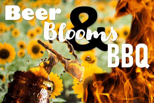 Beer, BLooms, & BBQ Event