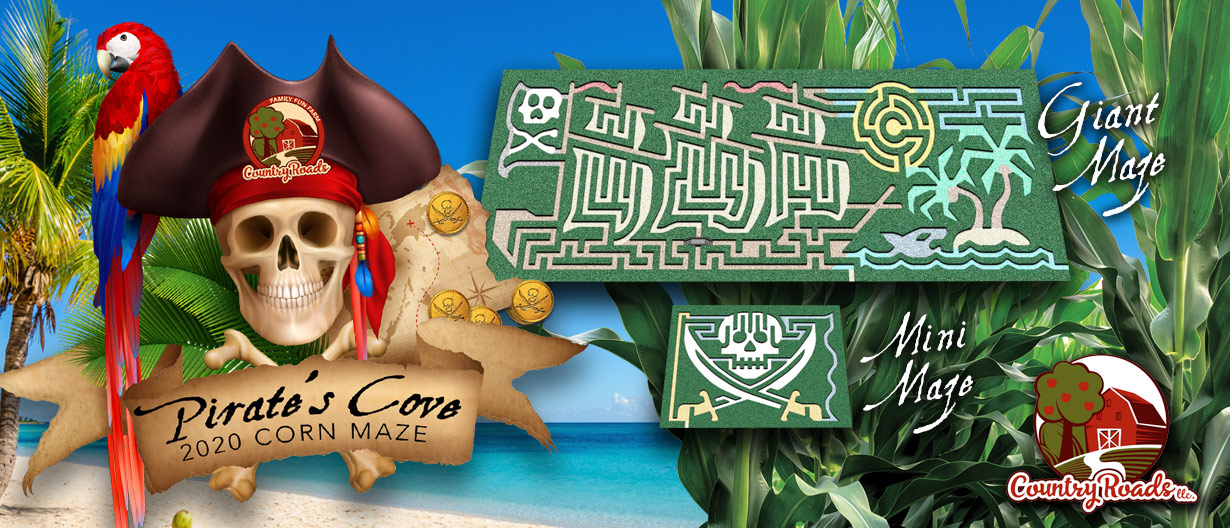2020 Corn Maze Theme: Pirate's Cove