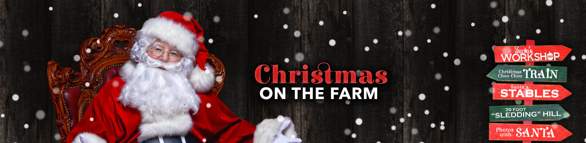 Christmas on the Farm - Santa & Family Friendly Activities