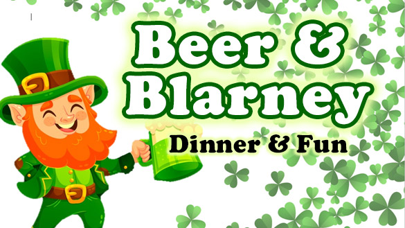 Beer & Blarney - Dinner & Fun at Country Roads (Stotts City, MO)
