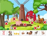 Animal Offspring Matching Game