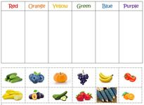 Garden Color Sort Activity